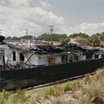 Remains of Smokey Yunick's garage