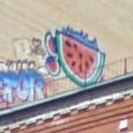 Hidden Watermelon Mural (StreetView)