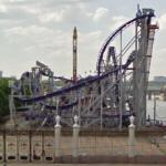 Gorky Park roller coaster (StreetView)