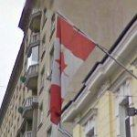 Canadian flag (StreetView)