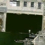 Seaplane lagoon at former NAS Alameda (Google Maps)