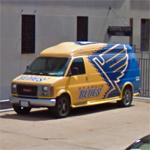 St. Louis Blues van