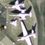 AV-8C, F-104G, U-2 and HiMAT (Google Maps)