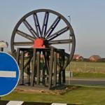 Sheave Wheel in roundabout