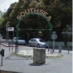 SouthSea Arch & Sculptures (StreetView)