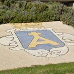 Coat of arms in roundabout
