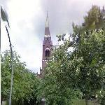 Church in Roundabout (StreetView)