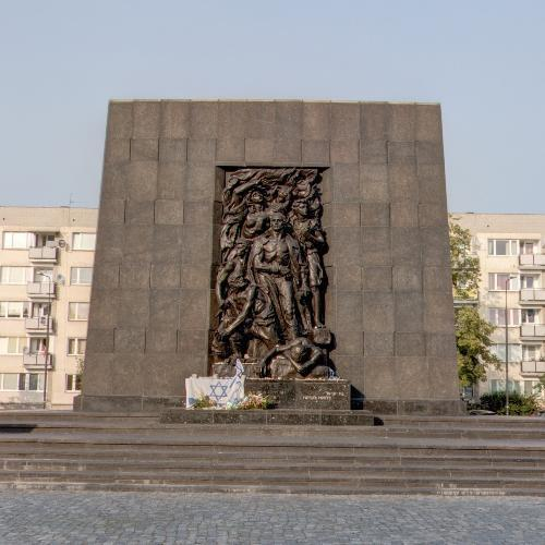 Monument to the Ghetto Heroes (StreetView)