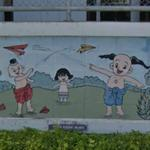 Thai Children Mural (StreetView)