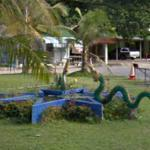 Dragon Fountain on the side of the road (StreetView)