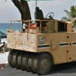 Multi-wheel roller compactor (StreetView)