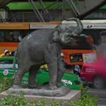 Elephant statue (StreetView)