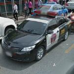 Police car (StreetView)