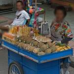 Pineapple vendor (StreetView)