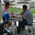 Playing Makruk (Thai Chess) (StreetView)