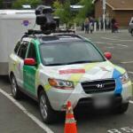 Google Hyundai Santa Fe with trike trailer (StreetView)