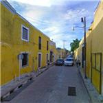 An entire town painted yellow