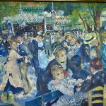 Dance at Le Moulin de la Galette (Bal du moulin de la Galette) by Pierre-Auguste Renoir