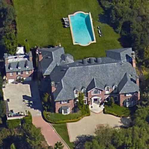 Chevrolet Bel Air >> Heidi Klum's House in Los Angeles, CA (Google Maps)