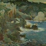 Cala Encantada (Mallorca) by Joaquim Mir (1901) (StreetView)