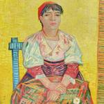 'Italian Woman (Agostina Segatori)' by Vincent van Gogh (StreetView)