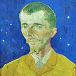 'Portrait of Eugene Boch' by Vincent van Gogh (StreetView)