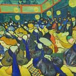 'The Dance Hall in Arles' by Vincent Van Gogh (StreetView)