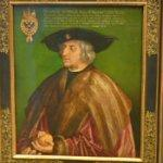 'Portrait of Maximilian I' by Albrecht Dürer (StreetView)
