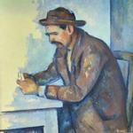 'The Cardplayer' by Paul Cézanne (StreetView)