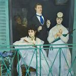 'The Balcony' by Edouard Manet (StreetView)