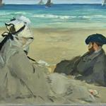 'On the Beach' by Edouard Manet (StreetView)