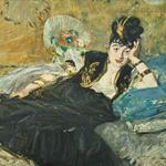 'Woman With Fans' by Edouard Manet (StreetView)