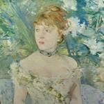 'Young Girl In A Ball Gown' by Berthe Morisot (StreetView)