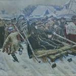 'Boyarina Morozova' by Vasily Surikov (StreetView)