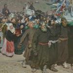 'Krestny Khod (Religious Procession) In Kursk Gubernia' by Ilya Repin (StreetView)