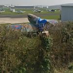 Supermarine Spitfire IX (replica) (StreetView)