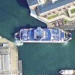 Portsmouth - Isle of Wight Ferry (Google Maps)