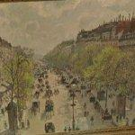 """Boulevard Montmartre, Spring"" by Camille Pissarro"