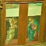 'Annunciation' by Botticelli (Sandro di Mariano Filipepi) (StreetView)
