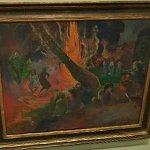 """Upa Upa (The Fire Dance)"" by Paul Gauguin (StreetView)"