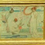 'The White Symphony: Three Girls' by James McNeill Whistler (StreetView)