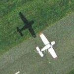 Airplane at RAF Denham