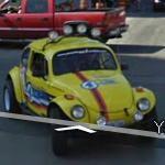 yellow Beetle (StreetView)