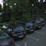 Google cars in the Melia Barajas (StreetView)