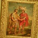 """Romulus and Titus Tatius"" by Peter Paul Rubens"