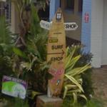 Surfboard sign (StreetView)
