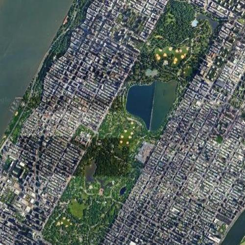 Central Park (Google Maps)