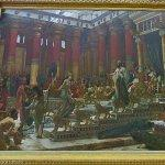 """The visit of the Queen of Sheba to King Solomon"" by Sir Edward John Poynter"