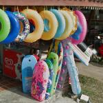Beach inflatables (StreetView)