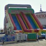 Inflatable slide (StreetView)